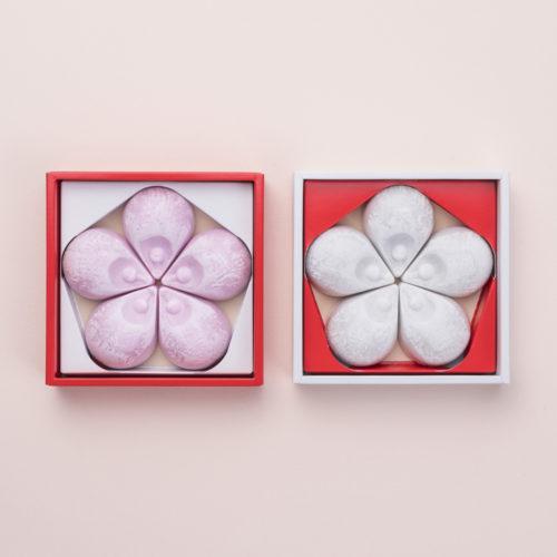 花びら草紙 (紅白10個入り)